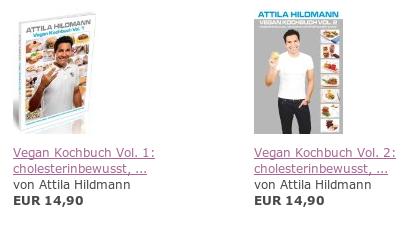 Kochbücher von Attila Hildmann