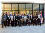 Vollständiges Gruppenbild mit allen Partner_innen des EIGE RDC Datenbankprojektes